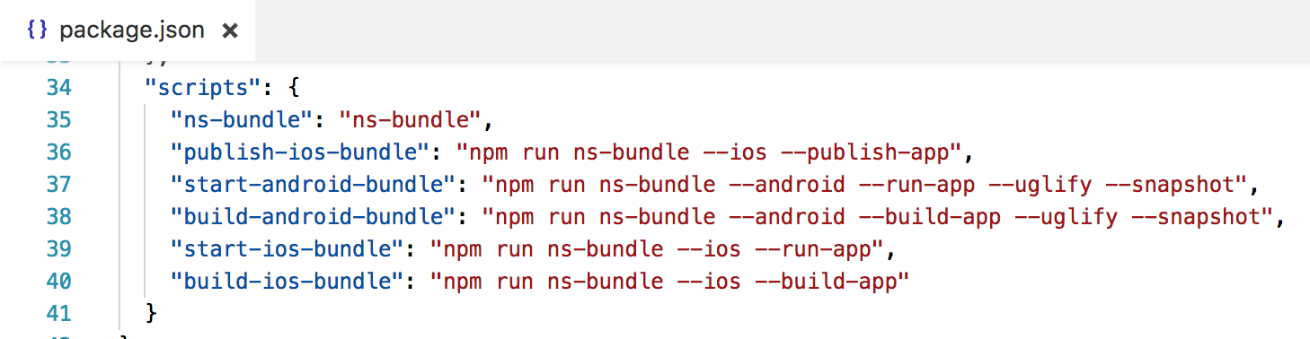 To enable snapshot generation pass --snapshot flag to the android bundling commands in package.json