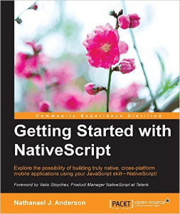 Getting Started With NativeScript Book Cover