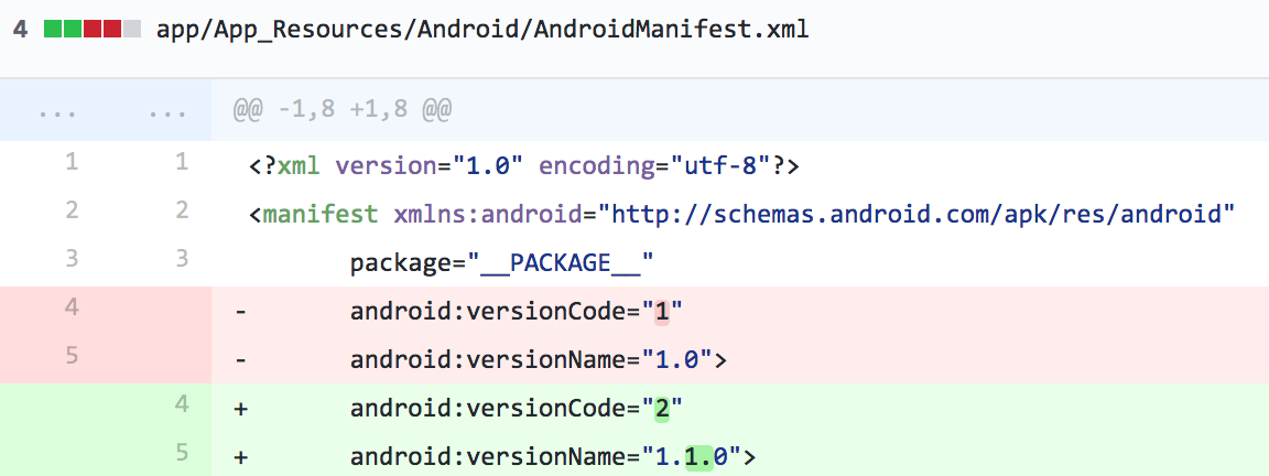 android-diff