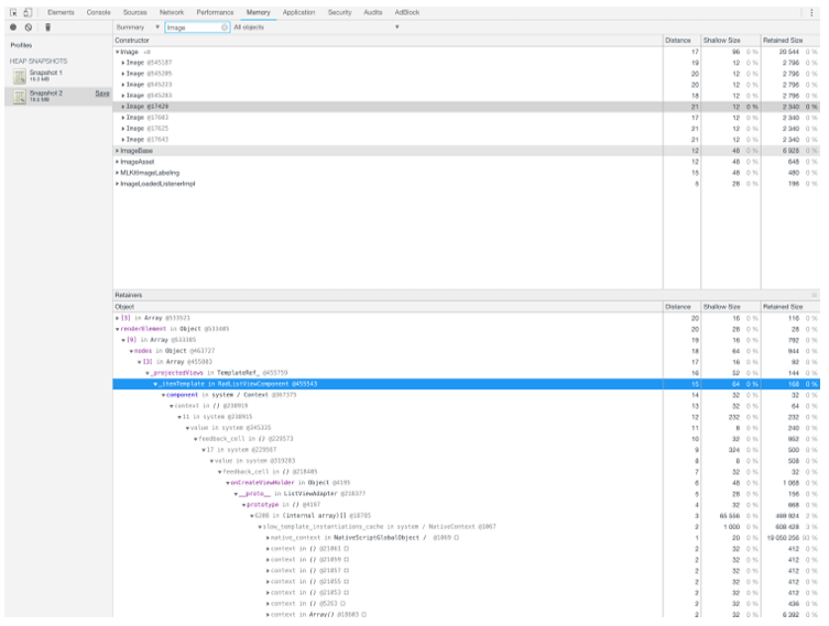 chrome devtools inspection